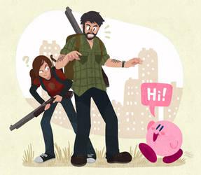 Kirby Meets Joel and Ellie (Kirby x TLOU)