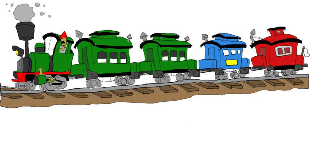 Steamer's Passenger Train by SammyD-Productions