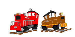 Jim and Tim the Switch Engines