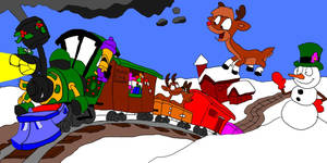 The North Pole Express by SammyD-Productions