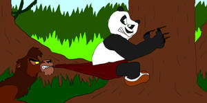 Jungle Panda concept: Wedgie by SammyD-Productions