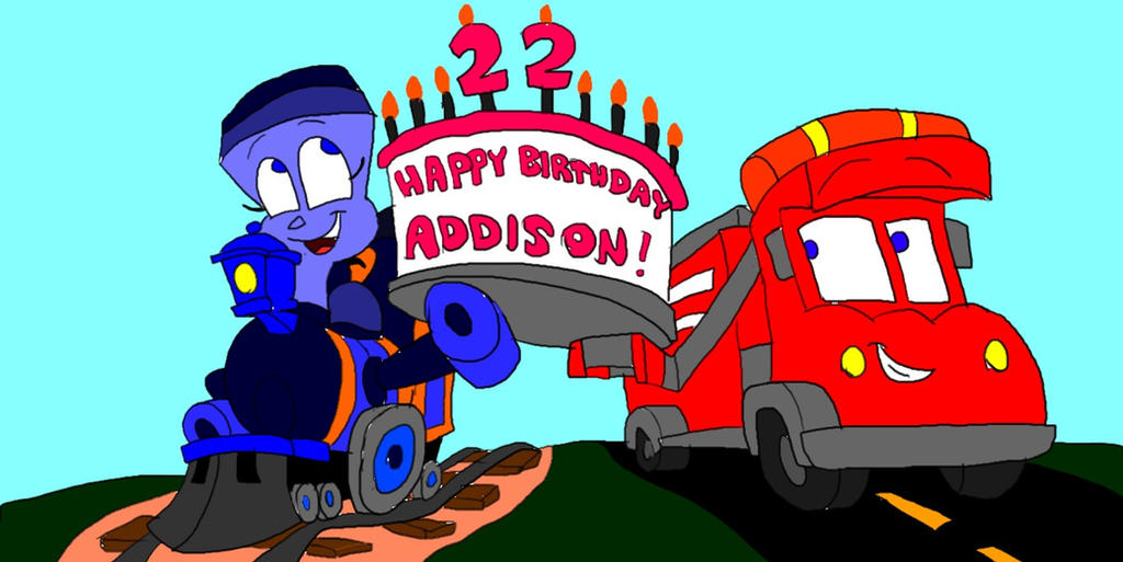 Little Engine That Could Birthday Cake