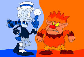 The Miser Brothers by SammyD-Productions