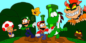 The Adventures of the Super Mario Bros. by SammyD-Productions
