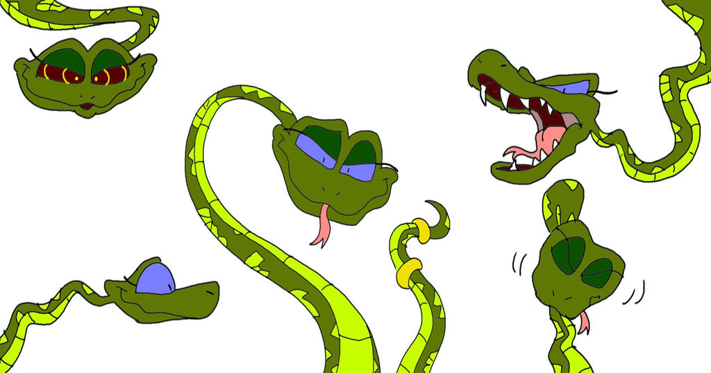 Queen Ular Snake-ified by SammyD-Productions