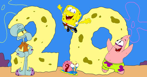 20 Years of Spongebob by SammyD-Productions