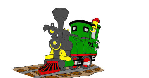 Steamer the Train(Live Action) by SammyD-Productions
