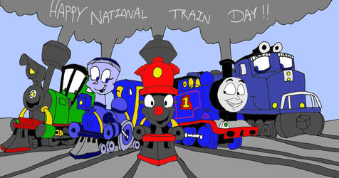 Happy National Train Day 2019 by SammyD-Productions