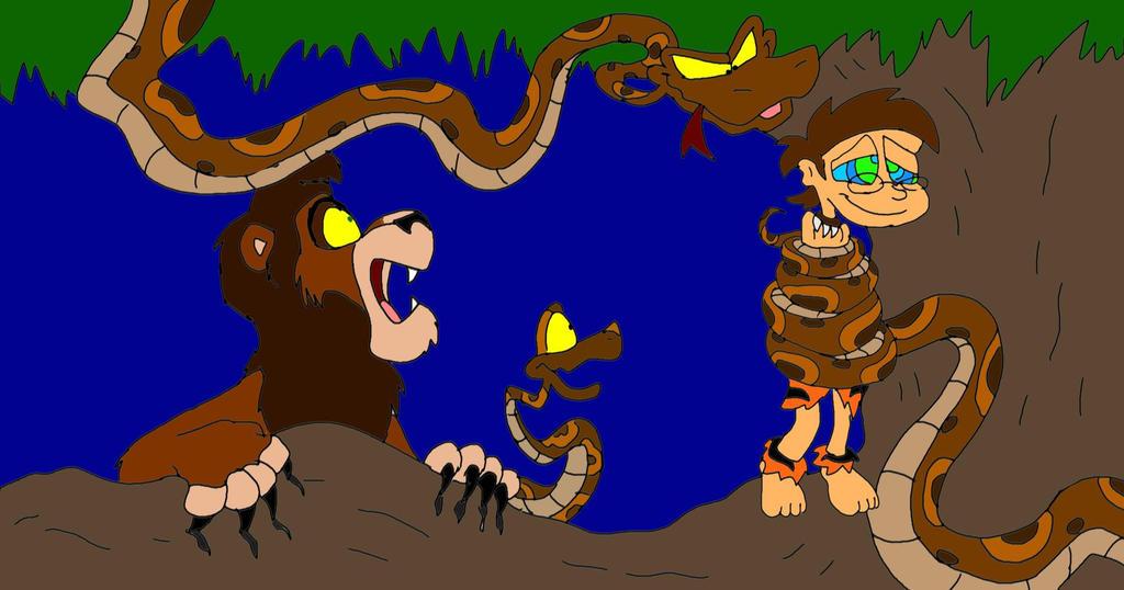 Jungle Boy: Kaa the Python by SammyD-Productions