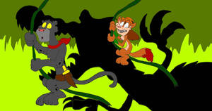 Chuck and Prowler's Jungle Swing (Version 2) by SammyD-Productions