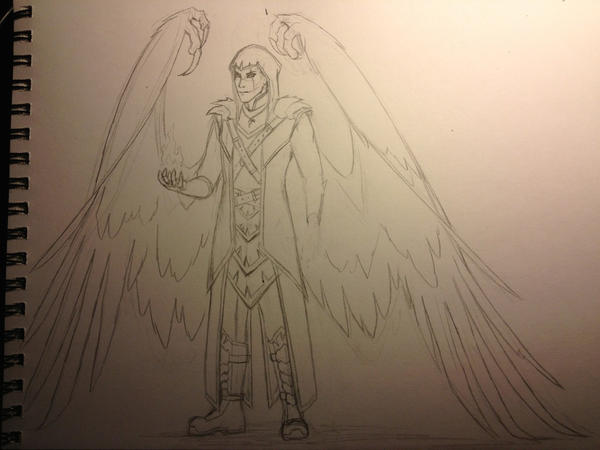 Azriel Sketch by ariakh