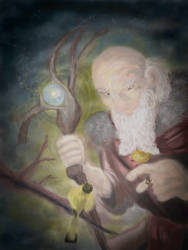 Radagast and the canary
