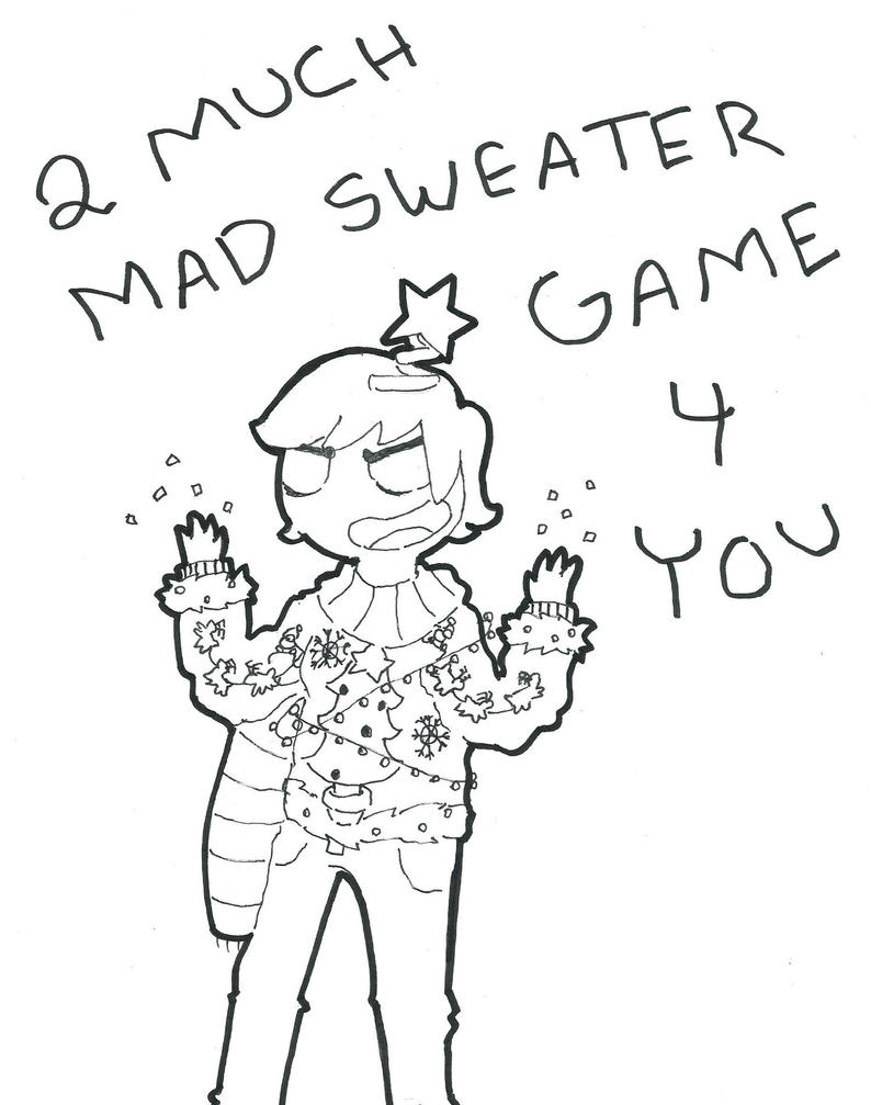 Mad Sweater Game by Jeezica