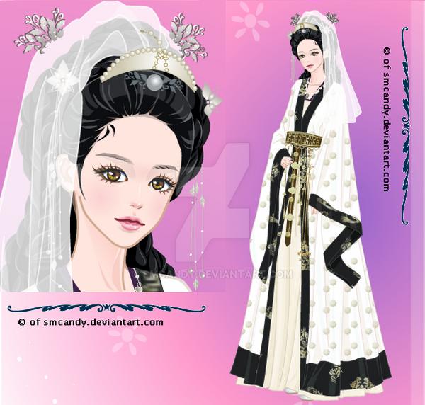 Seondeok kagome wedding by smcandy on deviantart for Anime wedding dress up games