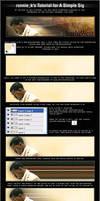 Kanye West Sig Tutorial by ronnie-k