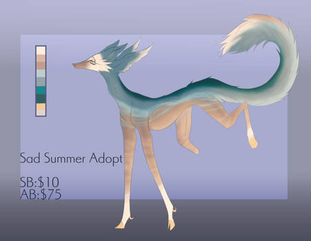 Sad Summer: Adopt Auction/OPEN/