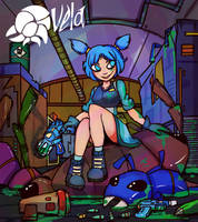Jet Force Gemini - Vela by AndrewCrowe