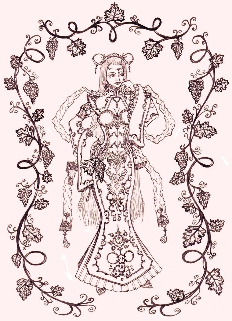 Duchess of Moldova by betelgeise