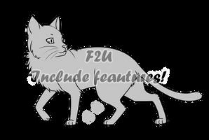 Cat Base - F2U by Master-Crimmy