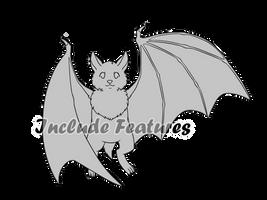 Bat or Vampire Base - F2U by Master-Crimmy
