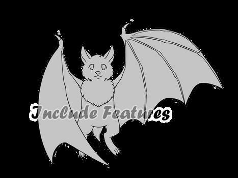 Bat or Vampire Base - F2U