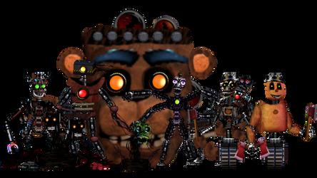 Fnaf world: Reborn 2