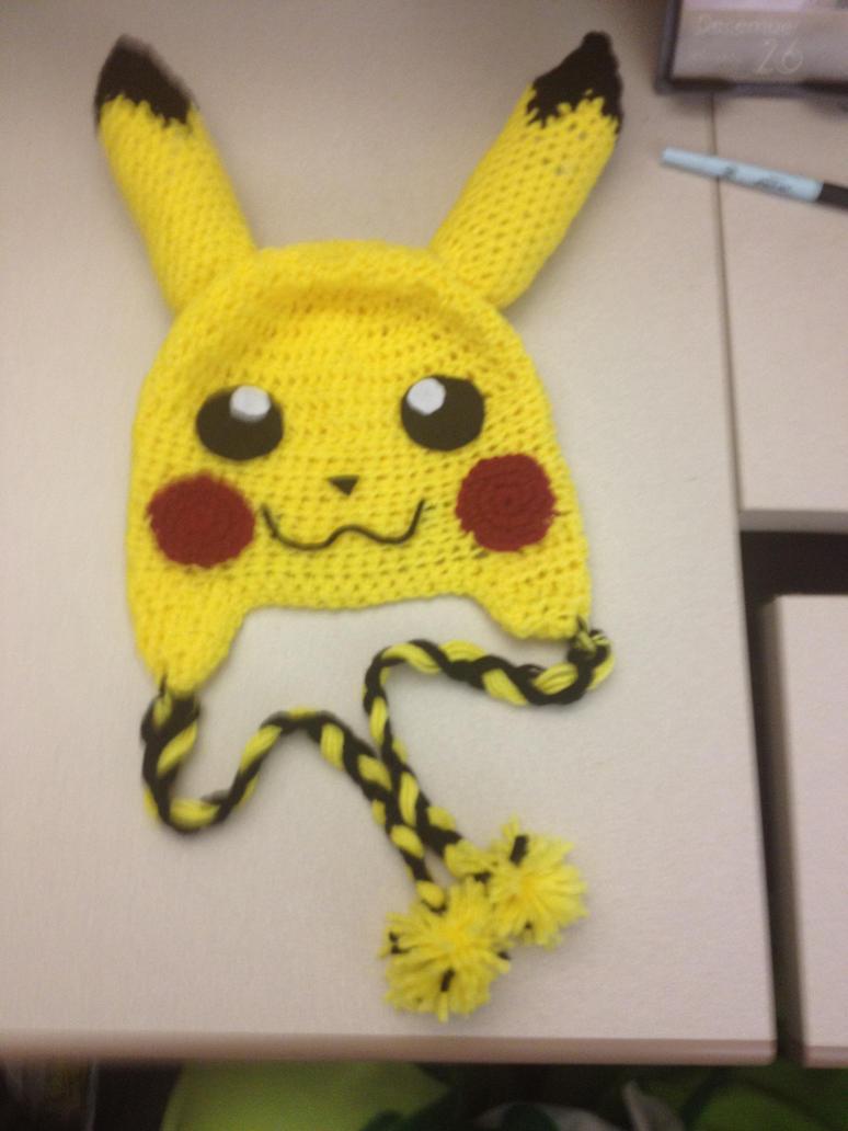 Pikachu Crochet Beenie by alillama88 on DeviantArt