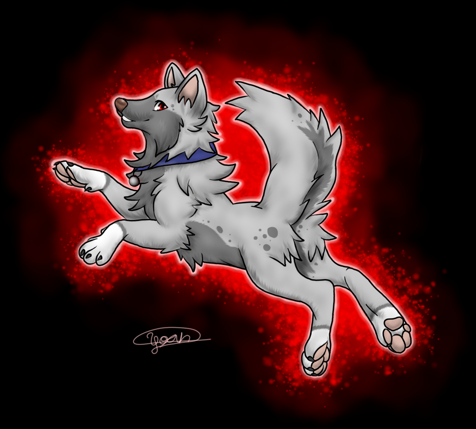 Art trade for InToXoWoLf by yoterd