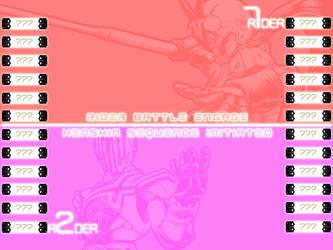 Kamen Rider Mugen SP (Select Screen Concept v1) by usetheforcehan