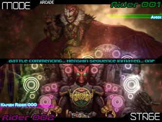 Kamen Rider Mugen SP (Select Screen Concept v2) by usetheforcehan