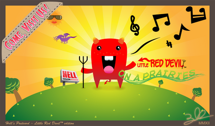 Little Red Devil ~On A Prairies~ by usetheforcehan