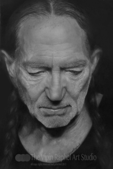 willie nelson by vipinraphel