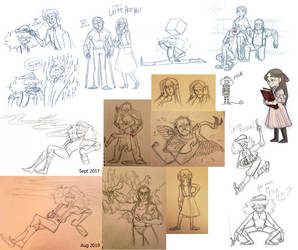 VS Sketch dump 2