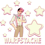 Warfstache by halo91