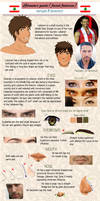 APH -Lebanon's reference guide [Facial features] by PhyroNite