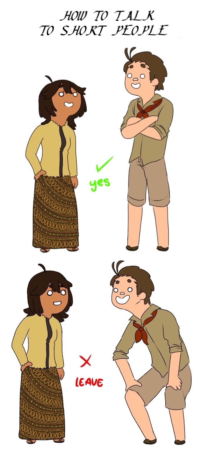 APH -How to talk to short people by MariaJHB