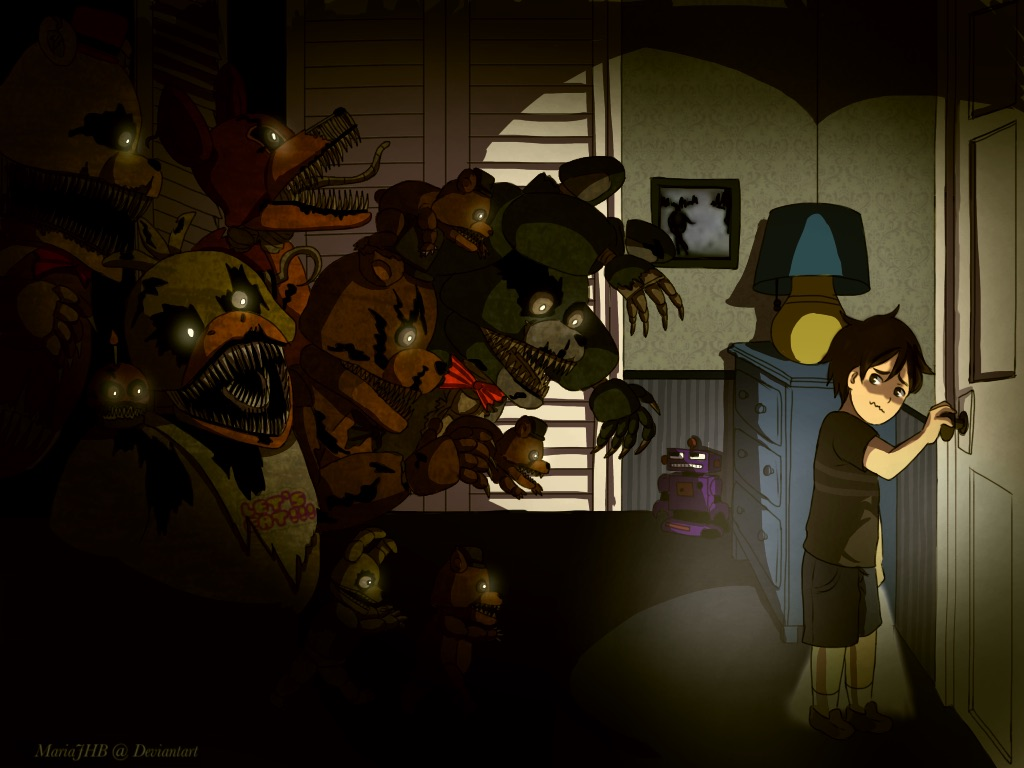 Fnaf We Are Your Friends By Phyronite On Deviantart