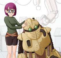 Lucca and Robo by camac