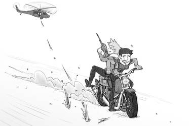 Moto Escape by camac