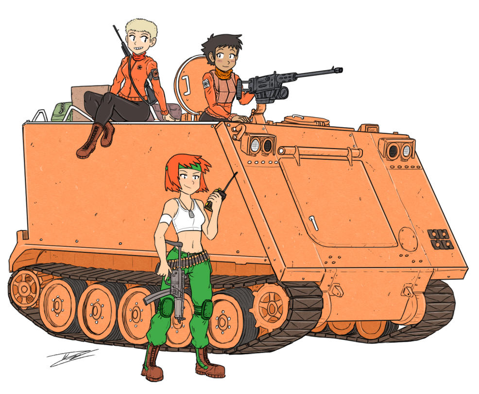Sami and the APC crew by camac