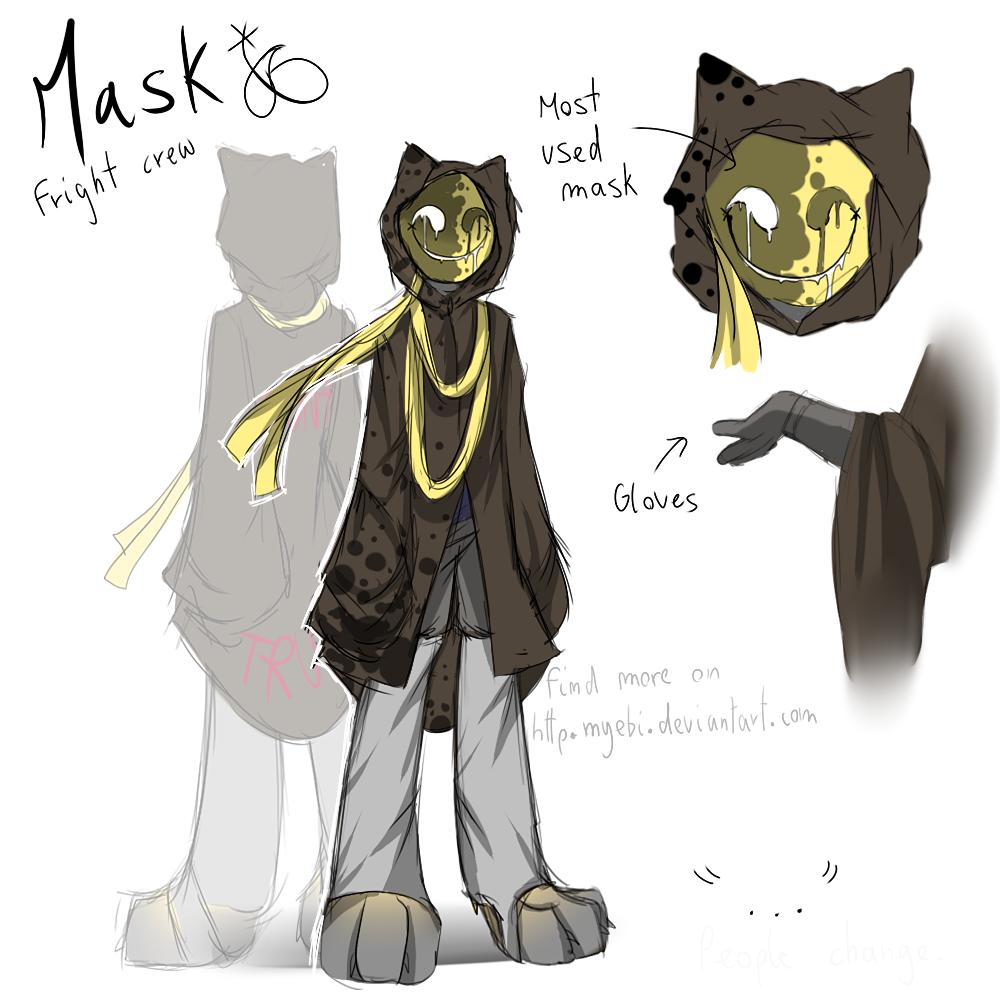 Fnaf mask refsheet by myebi on deviantart