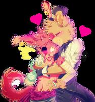 FNAF | Surprising Loving Bear-Hug by Myebi