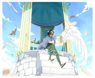 guardian angel by Myebi