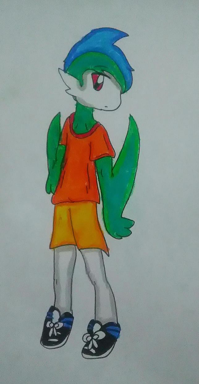 Julian (Anime Form) by Lunaladevila
