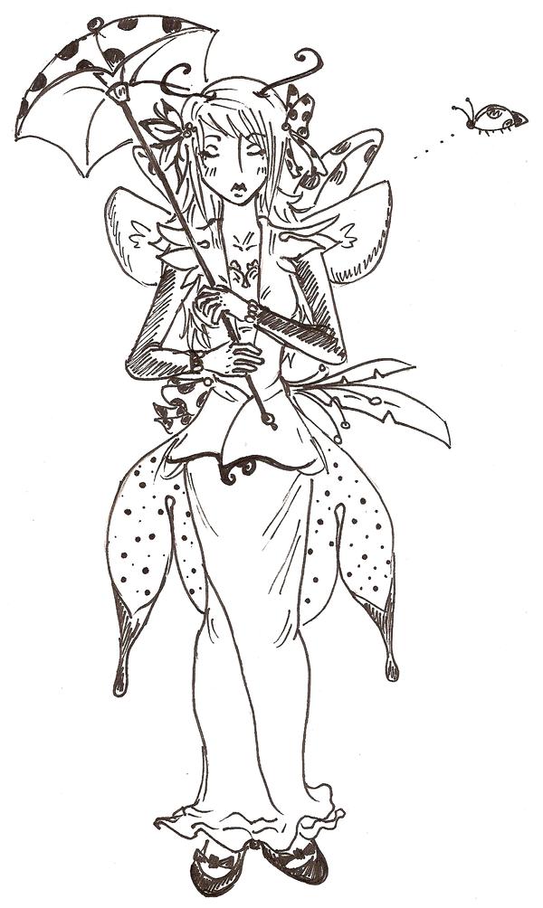 The Ladybug by JoannaBanana