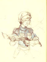 Fusiliers Marin Martien by AmericanGinseng