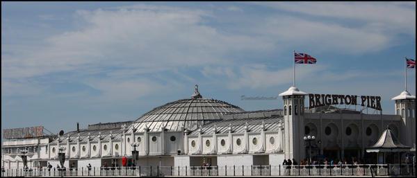 Brighton Pier by Deviantinterested