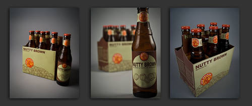 New Belgium's Nutty Brown by SyndicDesigns