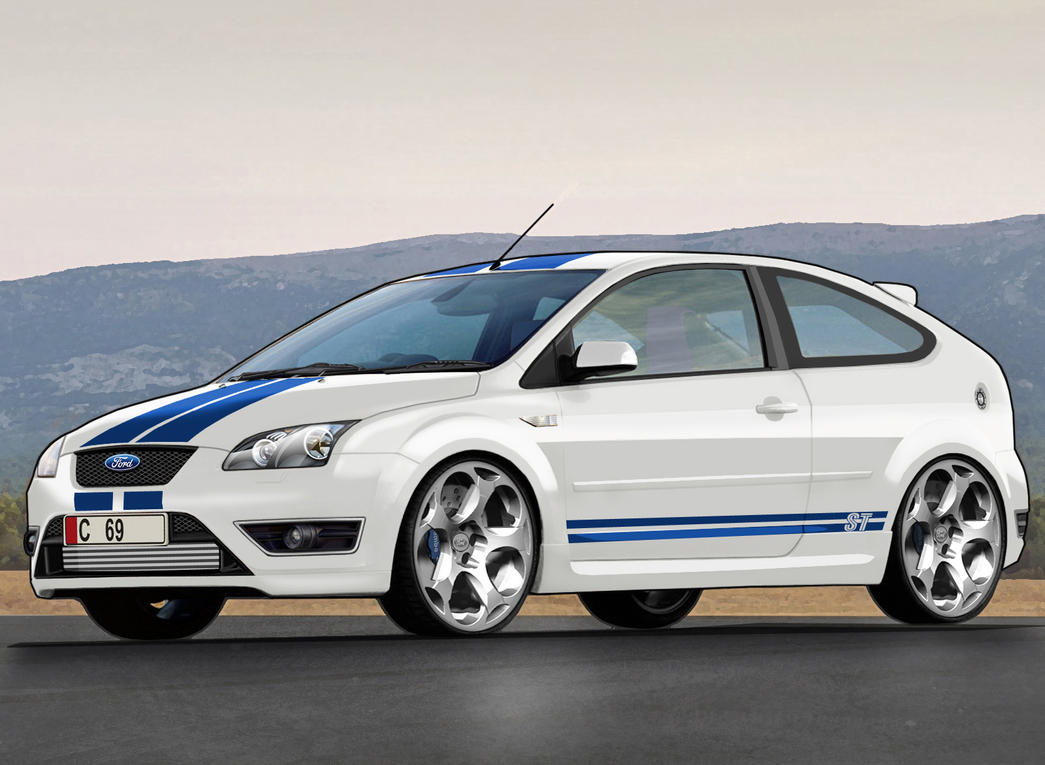ford focus st add racing stripes autos post. Black Bedroom Furniture Sets. Home Design Ideas