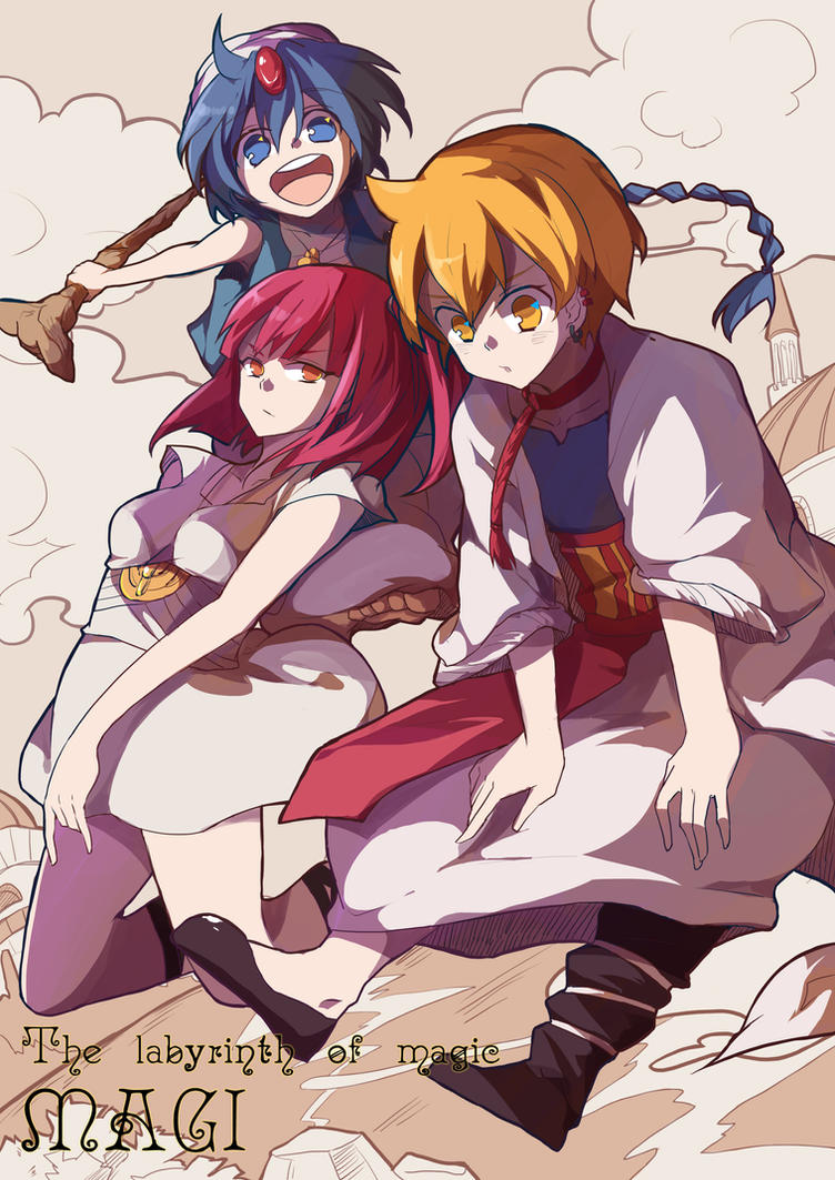 MAGI by miyu0127